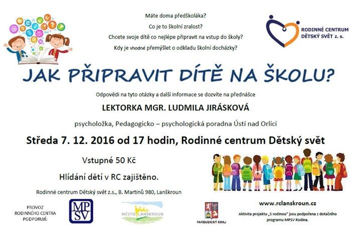acbdcf0827f Jak připravit dítě na školu  Město Lanškroun